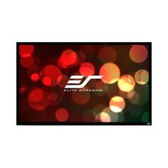 Elite Screens ezFrame Series White Fixed Frame Projection Screen Viewing Area: