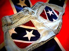 Rebel Flag Shorts