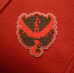 Team Valor Red Pokemon Inspired Cross Stitch by ChipsStitches