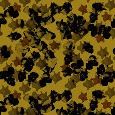 Estampa Têxtil 'Flor estrela' por Ana Isa Zanesco