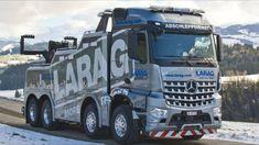 ABSCHLEPPWAGEN = Mercedes Benz 4151 - Arocs (8X4) - LARAG