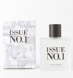 """Issue No. 1 Mens Platinum 1.7Oz Cologne - Platinum X No Size by ISSUE NO. 1. $19.50. Made in U.S.A. Born in Southern California and inspired by the record industry.  Issue No1 is our new break through fragrance thats hitting the scene to top the charts.  Our debut album will be such a hit that well be releasing it on Vinyl and hope to go Platinum!       Sits in the Fougere or """"fern-like"""" area of fragrance the chart with green aromatic notes.      Much lighter and less woods..."""