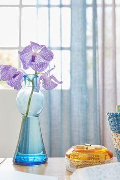 Origineel | Combineer meerdere kleuren stof in één gordijn #gordijnen #kussens #curtains #cushions #Gardinen #Vorhänge #Blue