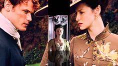 Video appreciation of 18th Century opulence in OUTLANDER-SEASON 2 Dragonfly in Amber