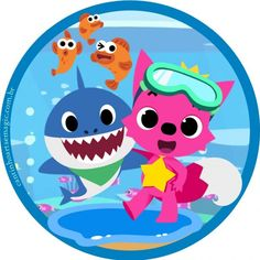 Cumple Toy Story, Shark Party, Color Shapes, Baby Shark, Under The Sea, Birthday Decorations, 3rd Birthday, Onesies, Kids Rugs