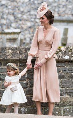 Duchess of Cambridge & Princess Charlotte