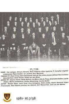 St.7/38 Hoërskool Wesvalia 1981