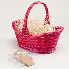 Perfect baskets for my girls.  The Easter bunny could use these for years!