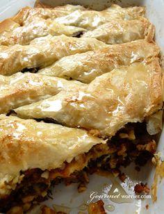 Savoury Baklava with Tomato, Fetta, Almond & Medjool Dates | Tasty Kitchen: A Happy Recipe Community!