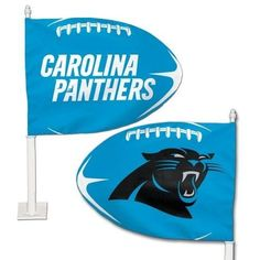 NFL Carolina Panthers Shaped Car Flag – 460 Sports