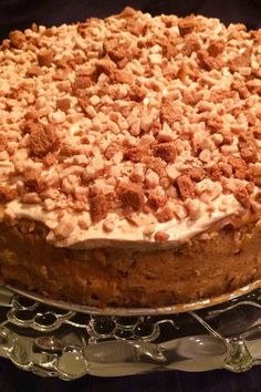 """Cookie Butter Cheesecake 