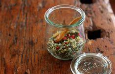 * herb salt weck jar 500x324 Craftiness Attack! ... and garlic herb salts