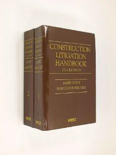 Construction Litigation Handbook - 2011 Edition