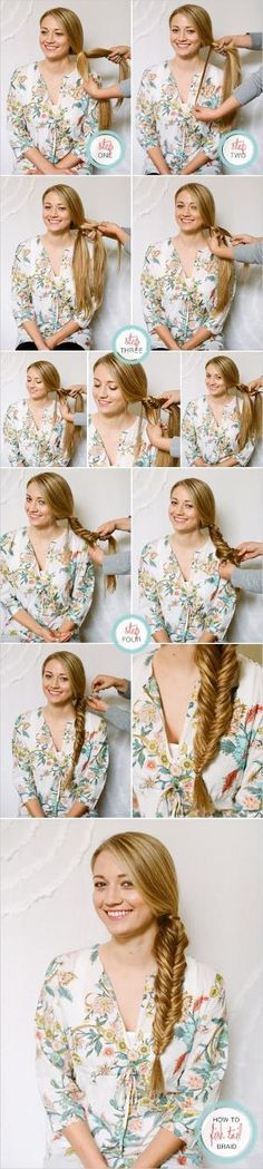 How To Fishtail Braid by ami992_y