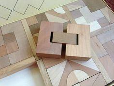Varibau Spiel Naef Vintage Solid Wood Puzzle Blocks Switzerland | eBay listing by limonaia