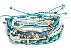 Aquarius Pack | Pura Vida Bracelets | Use https://puravidabracelets.refersion.com/c/1cdf + code SYDNEYG10 for a sweet discount on all things Pura Vida ! #puravidabracelets #giveback #costarica