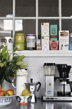nostalgiecat: 8 inspirational Coffee stations...