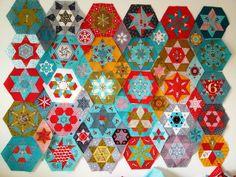 Hexagons  Stars