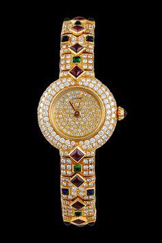 CARTIER Diamond, Sapphire, Emerald & Ruby
