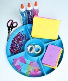 Invitation to Create-Paper Butterfly Craft for Kids #kidart #preschool #kindergarten