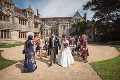 Wedding confetti shout at Athelhampton House in Dorset Wedding Venues, Wedding Photos, Bridesmaid Getting Ready, New Wife, Wedding Breakfast, Civil Ceremony, Wedding Confetti, Father Of The Bride, Wedding Photography
