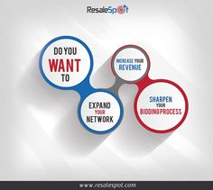 Do you want to:  1) Expand your network 2) Increase your revenue 3) Sharpen your bidding process.  Then join us at www.resalespot.com — in Texas.