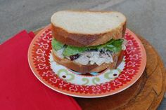 Best Turkey Salad Sandwich Ever Made | entertaining by the bay #recipe