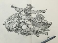 """Check out my @Behance project: """"Scribbling sketch3""""…"""