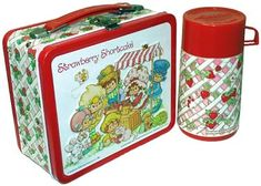 Strawberry Shortcake lunch box and flask