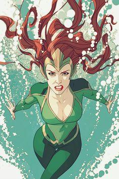 "Queen Mera in Aquaman: Underworld (2017) by Joshua Middleton "" """