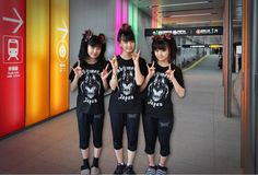 BABYMETAL at Train Station