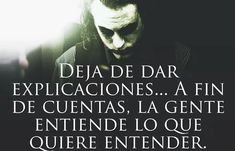 ➡ @_sr.realista ➡ @_sr.realista ➡ @_sr.realista ➡ @_sr.realista ➡ @_sr.realista ➡ @_sr.realista #frases #frasesdeamor #frasesbonitas… Joker Frases, Joker Quotes, Bitch Quotes, Life Quotes, Inspirational Phrases, The Ugly Truth, Joker And Harley Quinn, Clint Eastwood, Favim