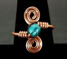 1000+ ideas about Wire Wrapped Rings on Pinterest | Wire Rings ... #copperwirerings #wireringsideas #wierering #wirewrappedringsideas