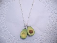 Avocado necklace!! How cool is this??