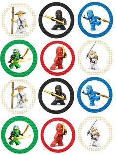 Ninjago Cupcake Toppers                                                                                                                                                                                 More