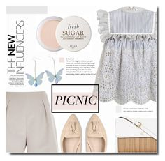 """""""Picnic in the Park"""" by kts-desilva ❤ liked on Polyvore featuring Zimmermann, River Island, L.K.Bennett, Fresh and picnic"""