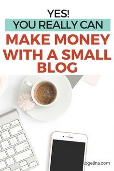 Yes, You Really CAN Make Money With A Small Blog - Here's How! Looking for small blog tips on how to make an income blogging? Here are several ways to make money blogging - even if you have just a small blog! It really IS possible to make a living blogging - click to find out how!