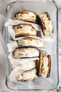Inspired by Cappuccino Heath Blizzard these ice-cream sandwiches are the ultimate frozen treat!