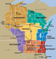 Explore the beauty Wisconsin cities & regions has to offer. From great lakes to charming small towns to cityscapes Wisconsin has everything. More here!