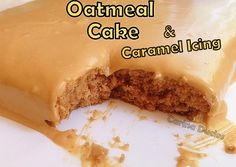 Cari's Oatmeal Cake & Caramel Icing - Lovefoodies hanging out! Tease your taste buds!