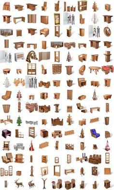 1000 id es sur le th me meubles en carton sur pinterest boites en cartons - Orika mobilier carton ...