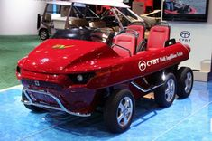 multi amphibious vehicle 2