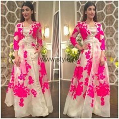 Beautiful floral dress♡♡♡