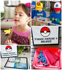 Easy Pokemon Birthday Party Ideas - Frog Prince Paperie