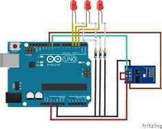 ESP8266 is a serial wifi module which is capable of sending and receiving data into the Web. In this post we will discuss how to control your Arduino GPIO pins from a webbrowser. ESP8266 is connect…