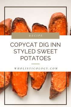 If you've been to Dig Inn, you know how good their roasted sweet potatoes are! Instead of Postmates or UberEats, you can make them at home with this recipe! Cooking Sweet Potatoes, Roasted Sweet Potatoes, Farro Recipes, Vegan Recipes, Sweet Potato Recipes, Chicken Recipes, Healthy Cooking, Healthy Eating, Healthy Sides