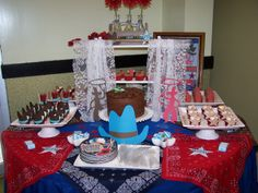 Country Western Baby Shower