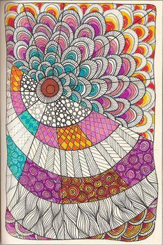 #doodle15    #ZentangleDesign  #art   #kraai65 on Flickr