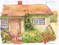 Green-house Painting by Carlos G Groppa