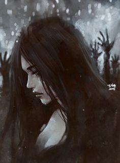 Répertoire Image Fantasy - Page 575 Dark Fantasy Art, Fantasy Girl, Dark Art, Dark Gothic, Gothic Art, Arte Obscura, Image Manga, Art Anime, Jolie Photo